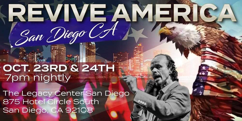 Revive America, San Diego