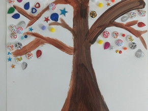 Button Tree: Art Idea of the Week.