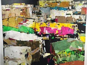 Tammam Azzam tells the story of Syria in 50,000 pieces of paper.