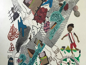 """The cherries, for me, are a memory about Iran"": A closer look at the Migration Mural Proj"