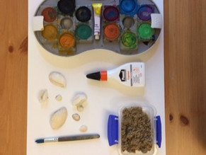 Sand Collage: Art Idea of the Week