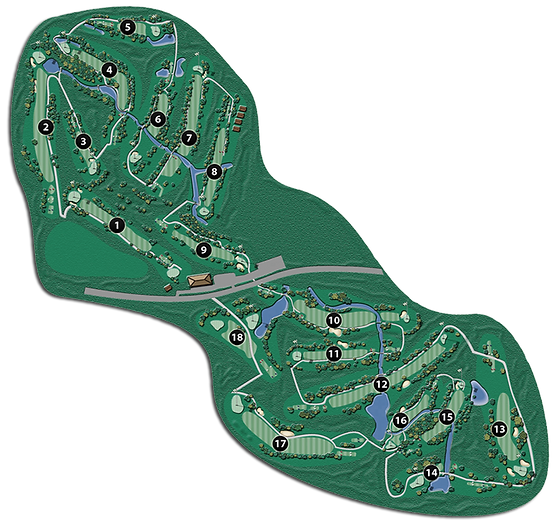 Steinbach Golf Club Course Layout