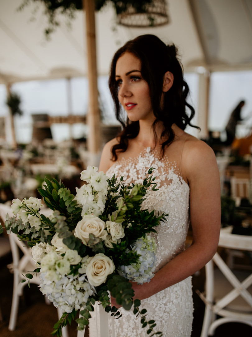 Photographer: Elena Popa Photography Marquee:Boutique Marquees Planner: Wonderful Events Florist: Lilac and Wild Dress: Kate Frances Bridal