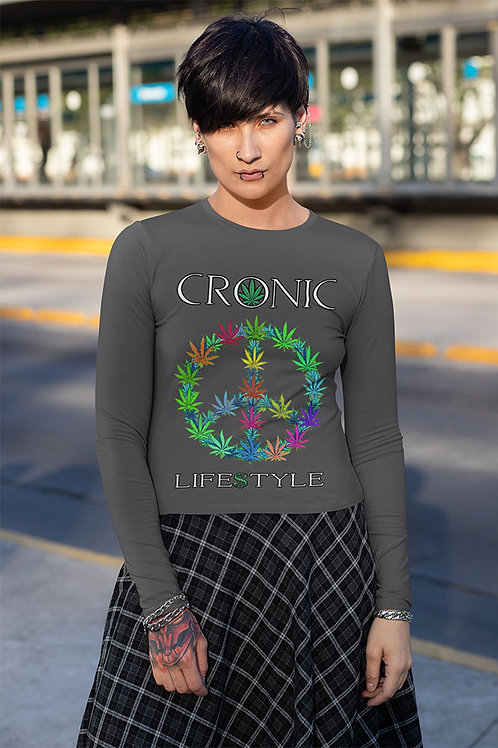Women's Long Sleeve Peace Shirt