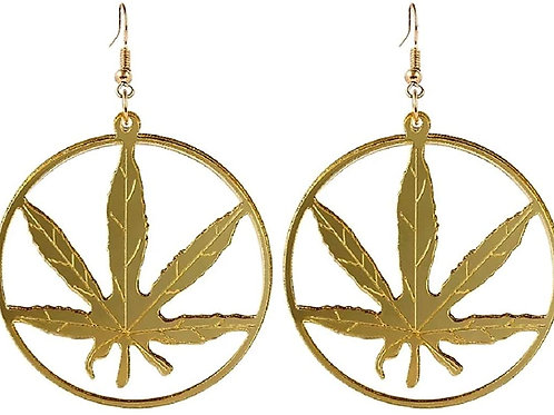 Marijuana Earrings