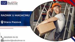 Radnik u magacinu | Oglasi za posao, Stara Pazova