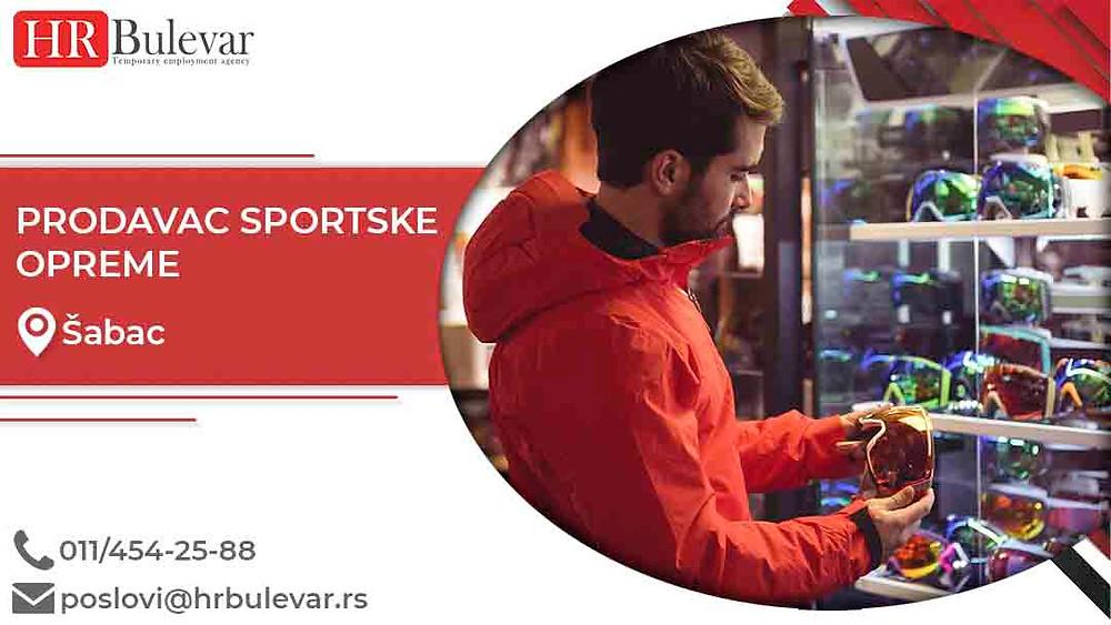 HR Bulevar, Oglasi za posao, Prodavac sportske opreme, Šabac,  Srbija