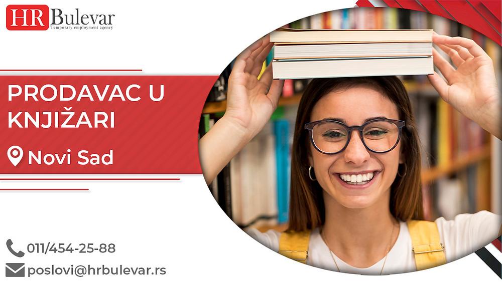 Omladinska zadruga Bulevar, Oglasi za posao, Studenti, Novi Sad, Srbija, Knjižara posao, Posao u knjižari, prodavci