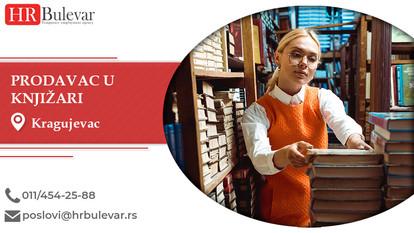 Prodavac u knjižari   Oglasi za posao, Kragujevac