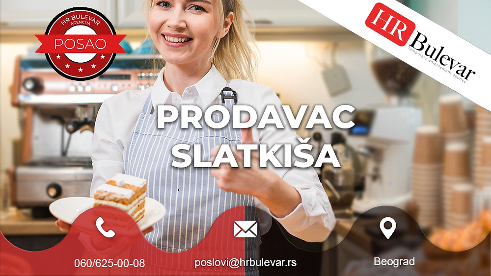 Omladinska zadruga Bulevar, Oglasi za posao, Studenti, Beograd,Srbija, Prodavac