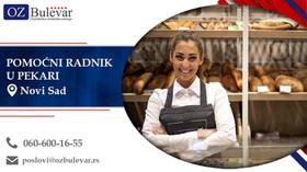 Pomoćni radnik u pekari | Oglasi za posao, Novi Sad