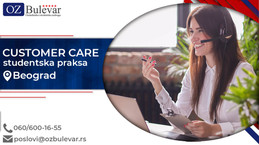 Customer Care  | Studentska praksa, Beograd