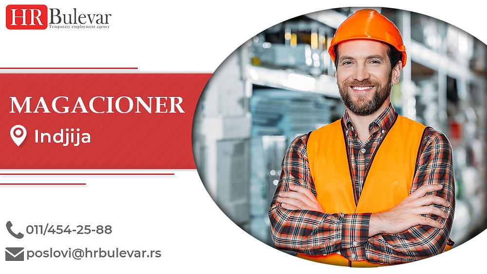 HR Bulevar, Magacioner , Poslovi, Oglasi za posao, Inđija, Srbija