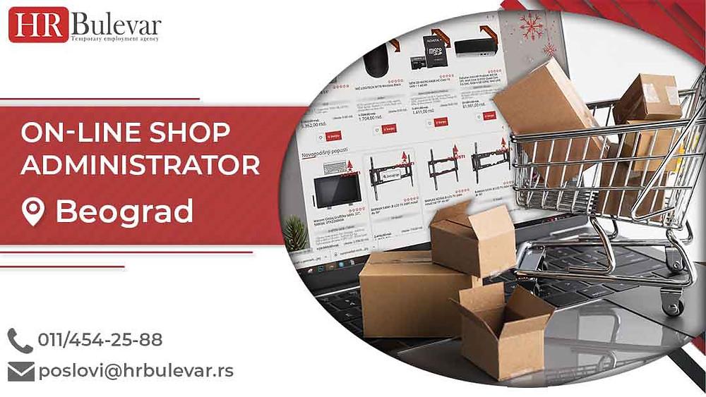 HR Bulevar, Oglasi za posao, Administrator Online Shopa, Beograd,  Srbija