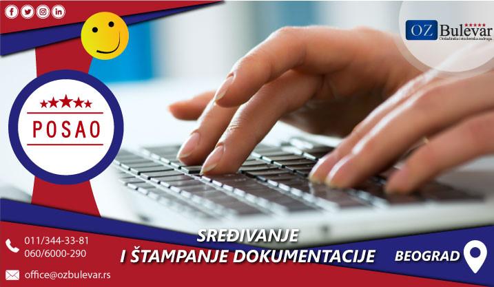 Beograd, Poslovi, Poslovi preko omladinske zadruge, Dokumentacija, Priprema, Tehnicka priprema