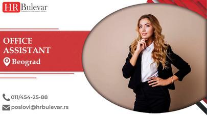 Office assistant | Oglasi za posao, Beograd
