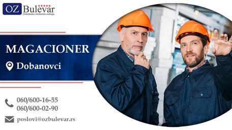 Magacioner | Oglasi za posao, Dobanovci