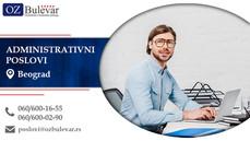 Administrativni poslovi | Oglasi za posao, Beograd