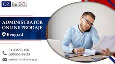 Administrator online prodaje | Oglasi za posao, Beograd