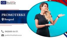 Promoterke | Oglasi za posao, Beograd