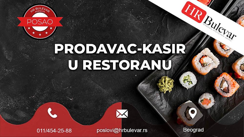 Agencija za zapošljavanje, Oglasi za posao, Prodavac, Beograd, Srbija