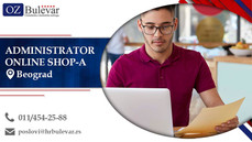 Administrator online shop-a | Oglasi za posao, Beograd