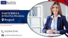Fakturista - Stručna praksa | Oglasi za posao, Beograd