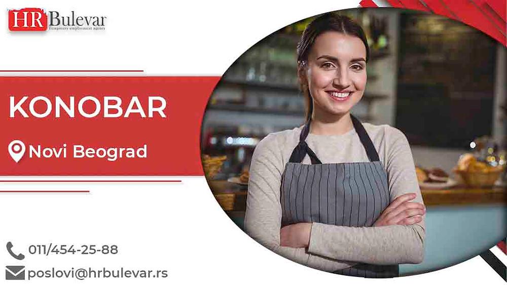 HR Bulevar, Oglasi za posao, Konobar, Beograd,  Srbija