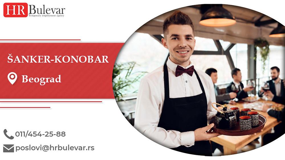HR Bulevar, Šanker-konobar   , Poslovi, Oglasi za posao, Beograd, Srbija