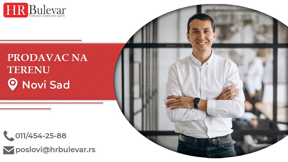 HR Bulevar, Prodavac na terenu, Poslovi, Oglasi za posao, Novi Sad, Srbija