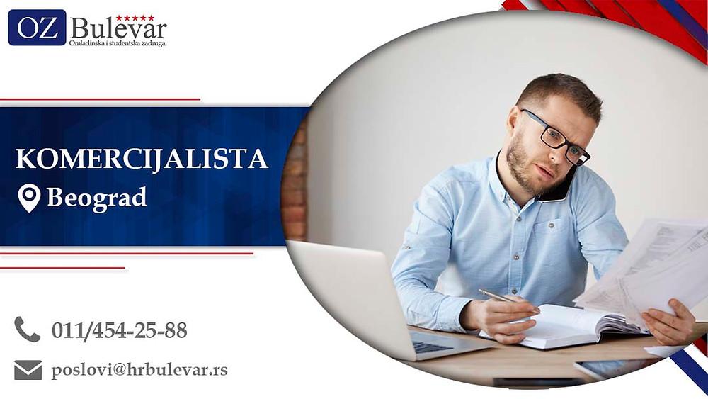 Omladinska zadruga Bulevar; posao u Beogradu;  Oglasi za posao; Veterinar