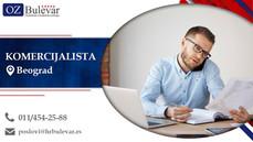 Komercijalista | Oglasi za posao, Beograd