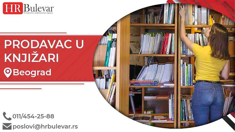 HR Bulevar, Oglasi za posao, Prodavac u knjižari, Beograd,  Srbija