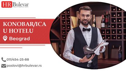 Konobar/ica u hotelu | Oglasi za posao, Beograd