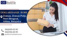 Deklarant robe | Oglasi za posao (Novi Beograd, Zemun, Zemun Polje, Altina, Batajnica)