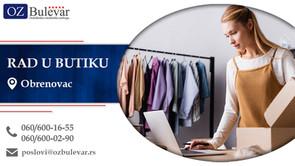 Rad u butiku | Oglasi za posao, Obrenovac