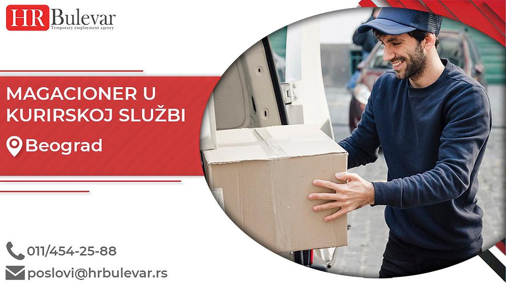 HR Bulevar, Agencija za zapošljavanje; Oglasi za posao, Magacioner ,Beograd