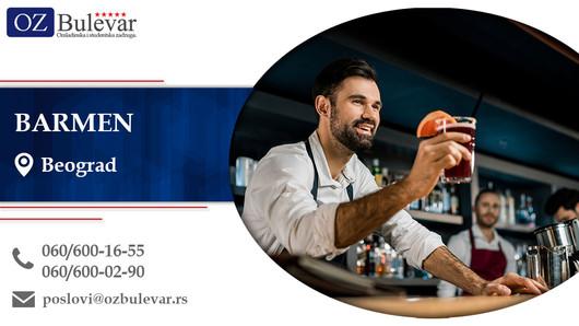 Barmen | Oglasi za posao, Beograd