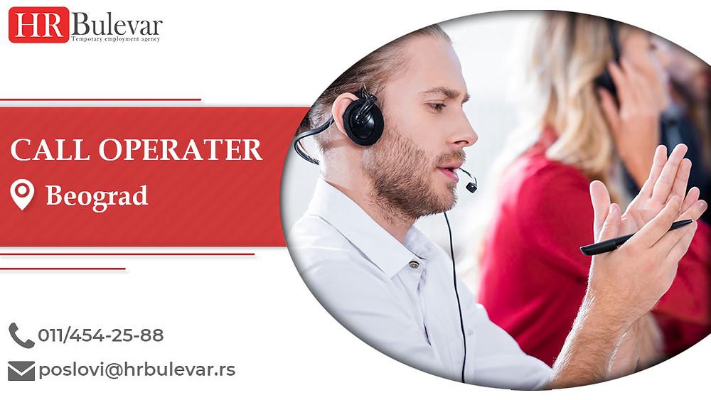 HR Bulevar, Beograd, Poslovi, Call operater, Oglasi za posao, Beograd, Srbija
