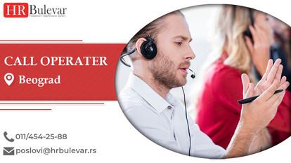 Call operater | Oglasi za posao, Beograd