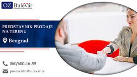 Predstavnik prodaje na terenu | Oglasi za posao, Beograd