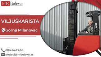 Viljuškarista | Oglasi za posao, Gornji Milanovac