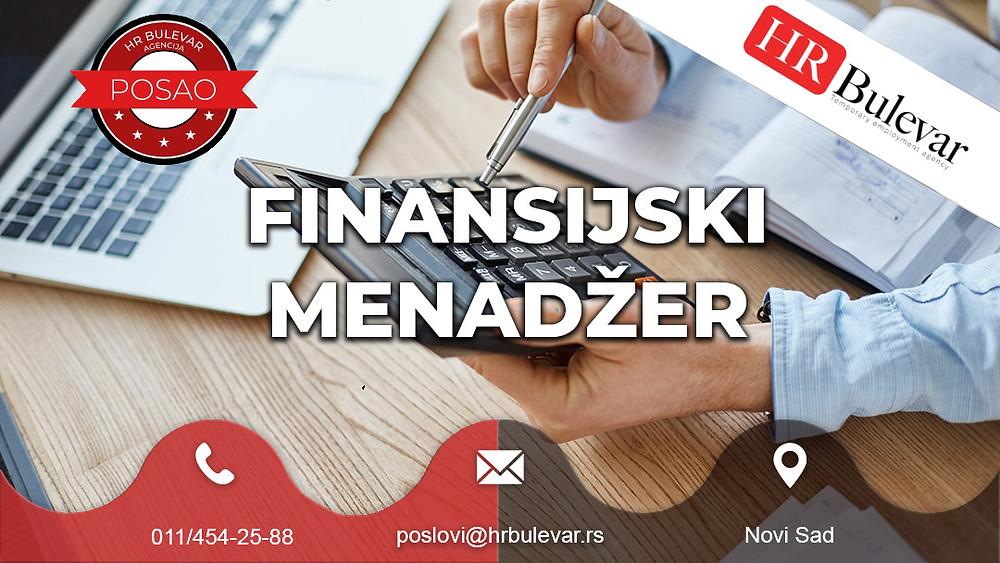 HR Bulevar, Agencija za zapošljavanje; Oglasi za posao, Finansije, Novi Sad