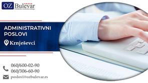 Administrativni poslovi | Oglasi za posao, Knješevci