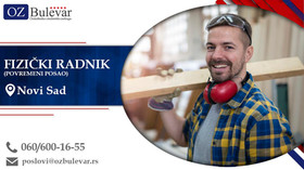 Fizički radnik | Oglasi za posao, Novi Sad