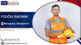 Fizički radnik | Oglasi za posao, Beograd