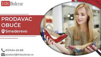 Prodavac obuće | Oglasi za posao, Smederevo