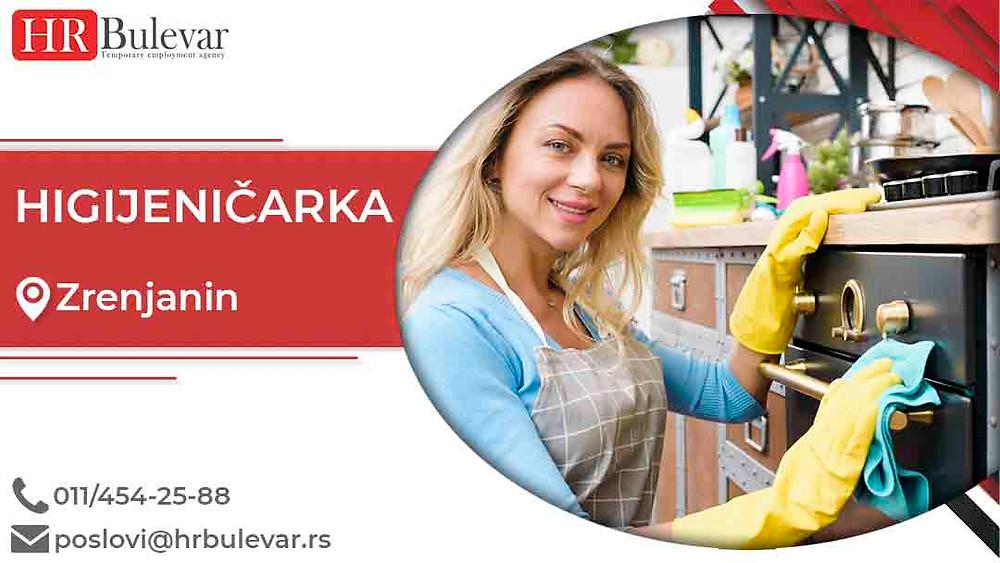 HR Bulevar, Oglasi za posao,Higijeničarka, Zrenjanin,  Srbija