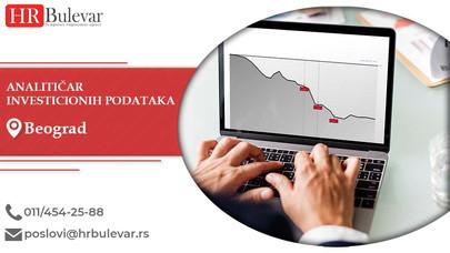 Analitičar investicionih podataka | Oglasi za posao, Čačak