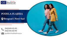 Podela flajera   Oglasi za posao, Novi Sad i Beograd